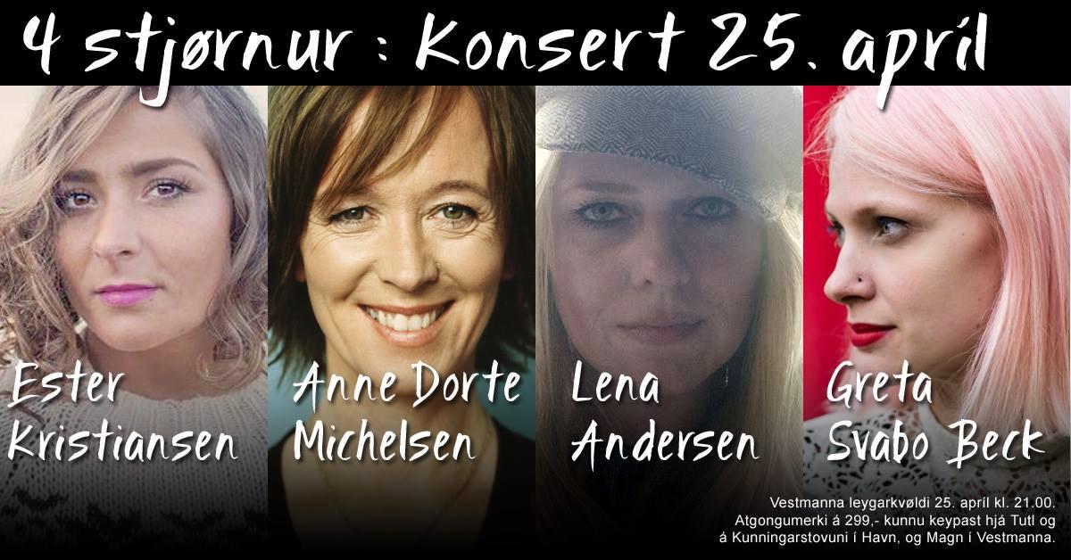 Anne Dorte til Færøerne i april